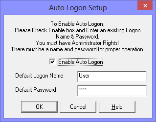 select logon and logoff options disabled dating