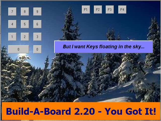 Build-A-Board 2.20 now supports images for keys and panels