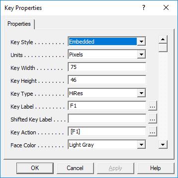 Build-A-Board Key Properties
