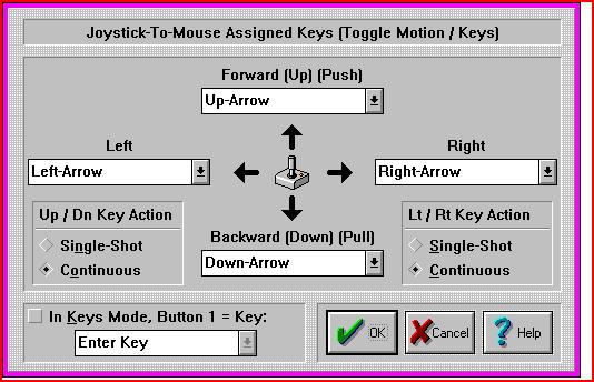 Toggle Motions Keys/KeyAssignments